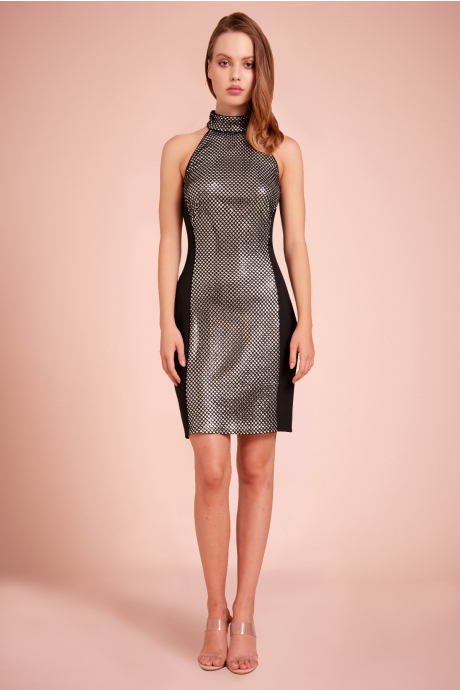 Cabello Sequin Mini Dress
