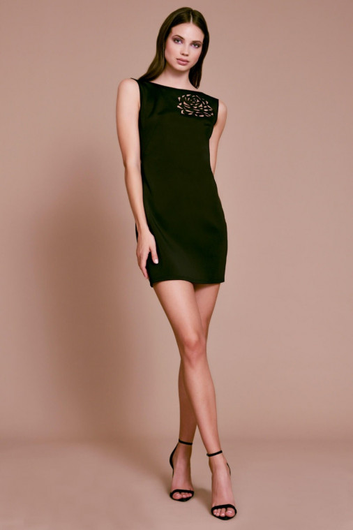 Isley Neoprene Mini Dress