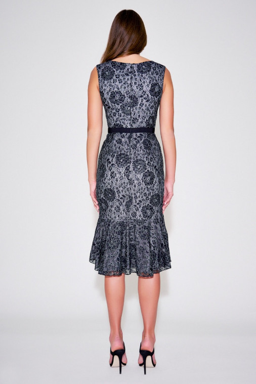 Whitney Floral Lace Dress