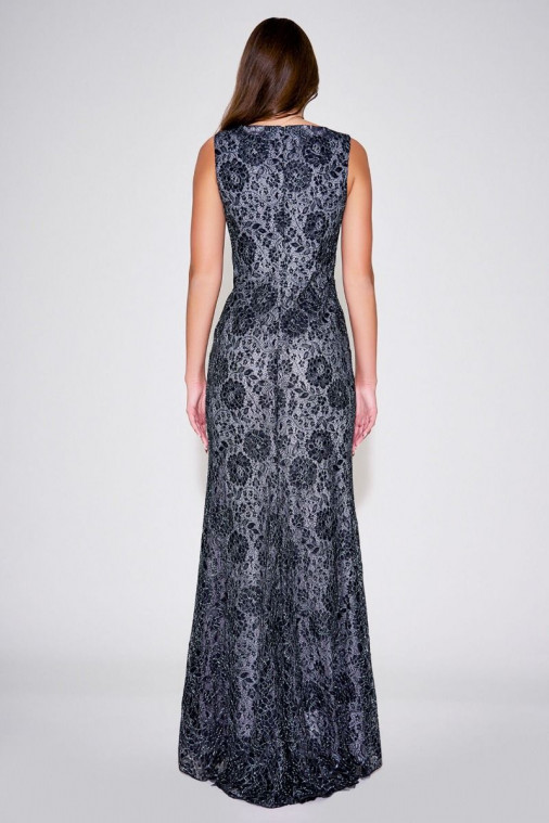 Teena Floral Lace Gown