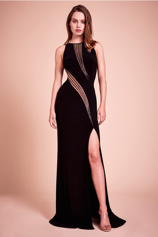 Nash Cutout Gown
