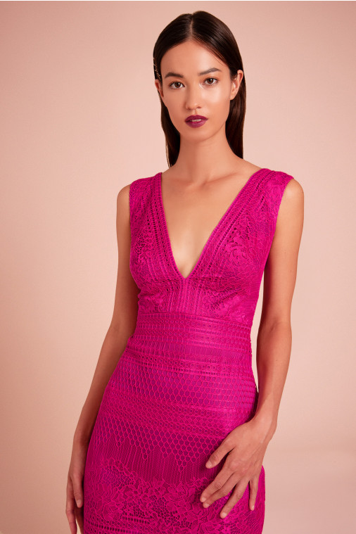 Maxwell Lace Cocktail Dress